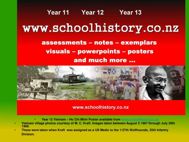 Year 12 Vietnam – Ho Chi Minh Poster available from