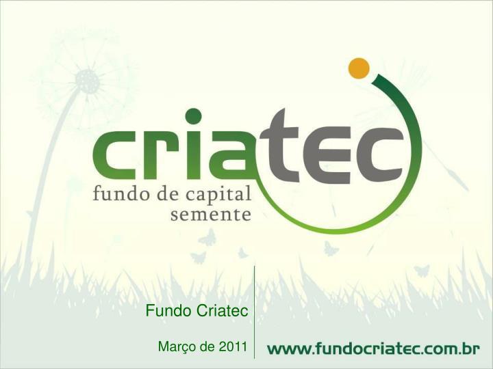 Fundo Criatec