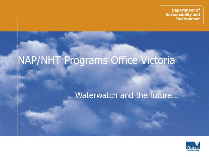 nap nht programs office victoria