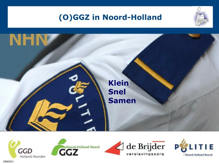 (O)GGZ in Noord-Holland