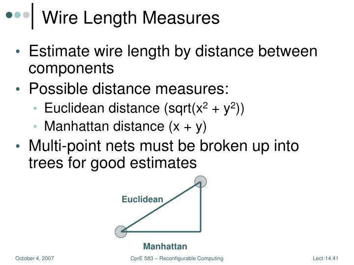 Wire Length Measures