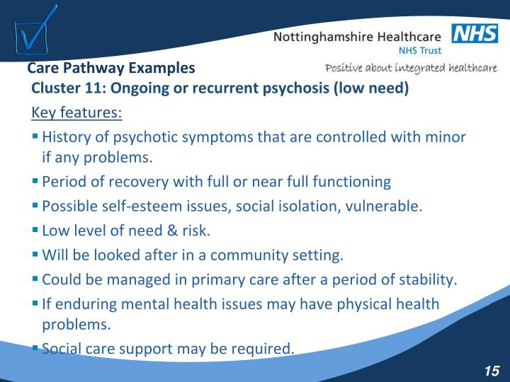 Care Pathway Examples