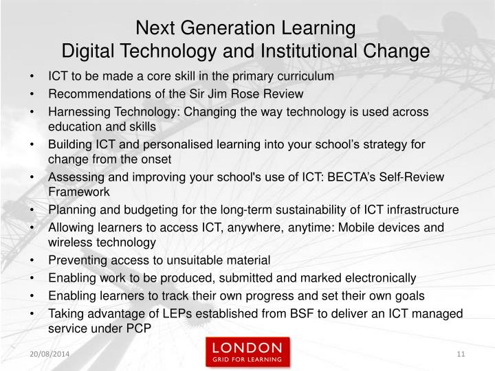 ICT to be made a core skill in the primary curriculum