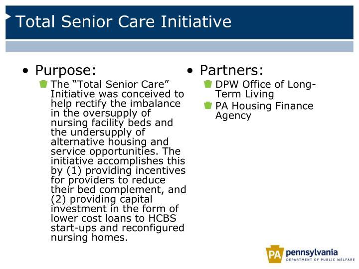 Total Senior Care Initiative