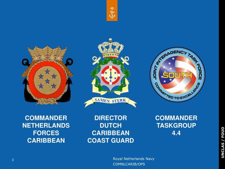 COMMANDER NETHERLANDS FORCES CARIBBEAN