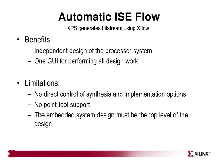 Automatic ISE Flow