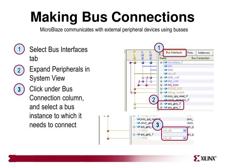 Making Bus Connections