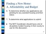 finding a new home a affordability and budget1
