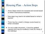 housing plan action steps1