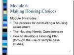 module 6 making housing choices1