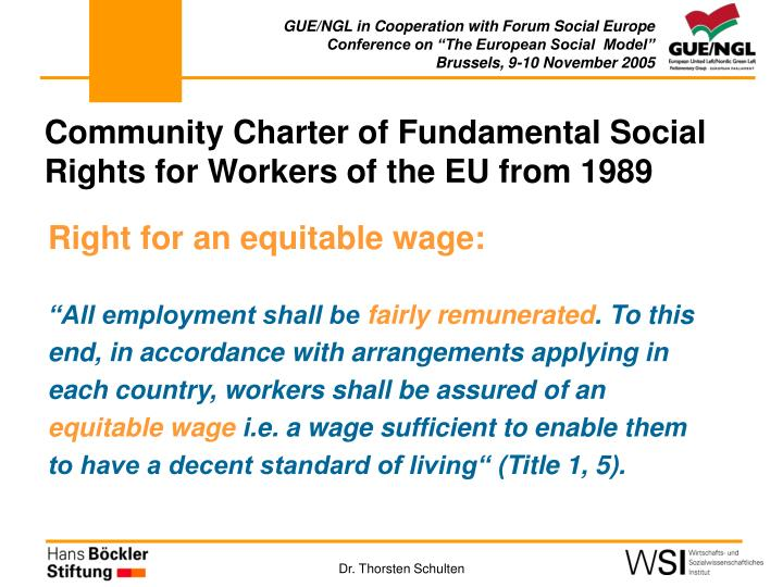 GUE/NGL in Cooperation with Forum Social Europe