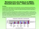 managing inner city decline in an medc newcastle upon tyne twdc and wecc