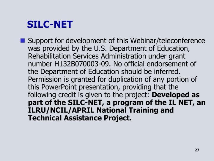 SILC-NET