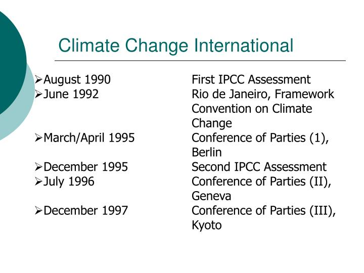 Climate Change International