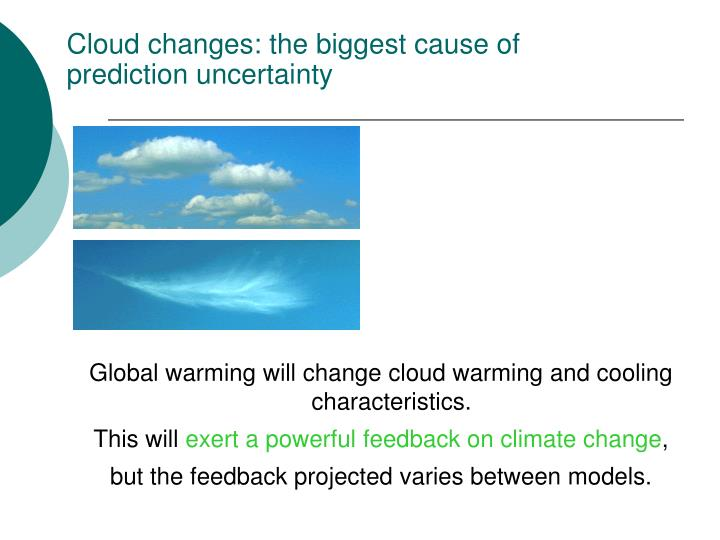Cloud changes: the biggest cause of