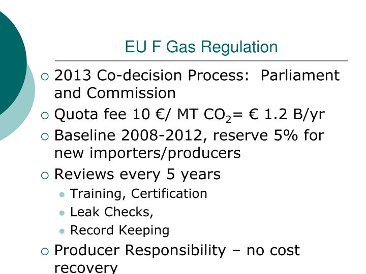 EU F Gas Regulation