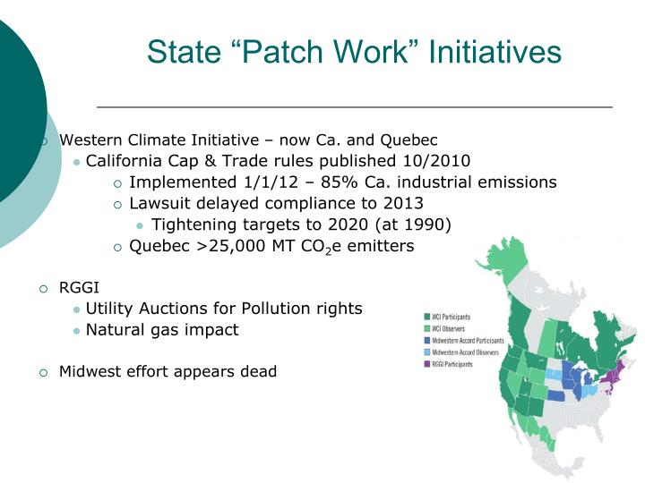 "State ""Patch Work"" Initiatives"