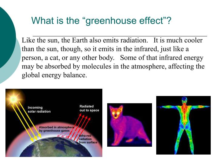 "What is the ""greenhouse effect""?"