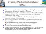 dynamic mechanical analyzer dma