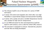 pulsed nuclear magnetic resonance spectrometer pnmr