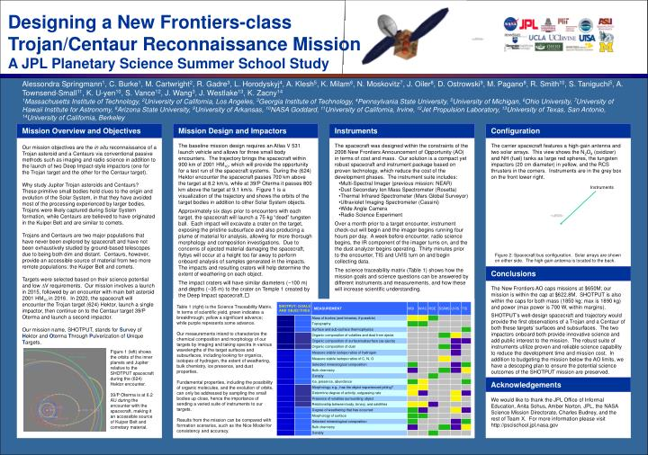 Designing a New Frontiers-class