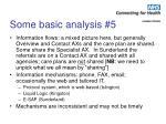 some basic analysis 5