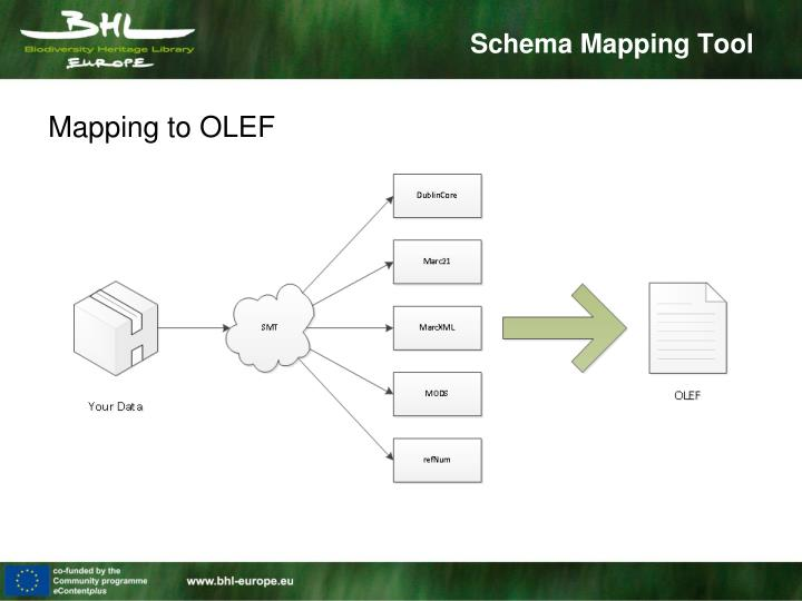 Mapping to OLEF