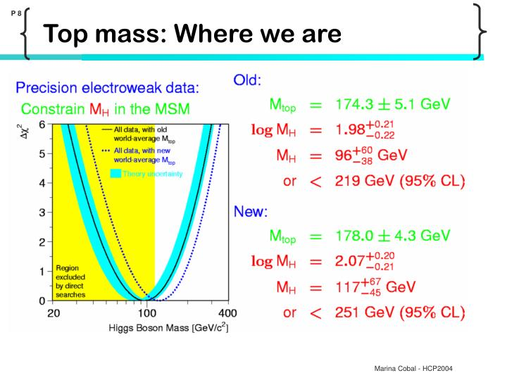 Top mass: Where we are