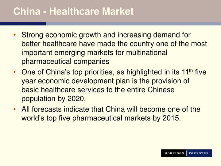 China - Healthcare Market