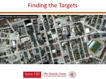 finding the targets