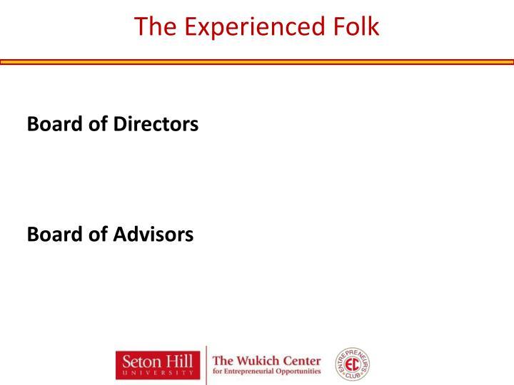 The Experienced Folk