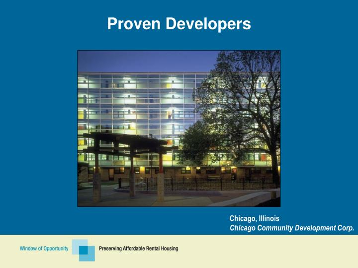Proven Developers