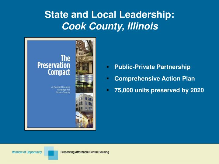 State and Local Leadership: