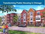transforming public housing in chicago
