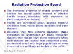 radiation protection board1