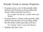 periodic trends in atomic properties11