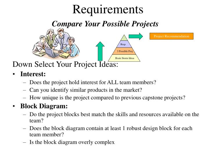 Compare Your Possible Projects