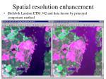 spatial resolution enhancement2
