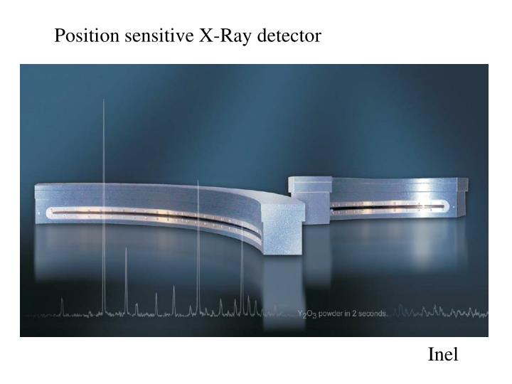 Position sensitive X-Ray detector