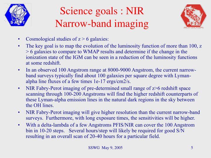 Cosmological studies of z > 6 galaxies:
