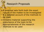 research proposals1