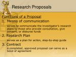 research proposals2