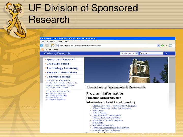UF Division of Sponsored Research