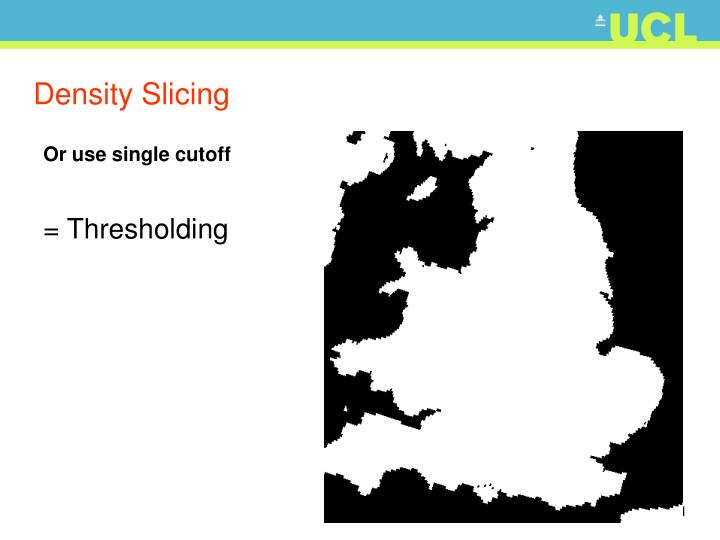 Density Slicing