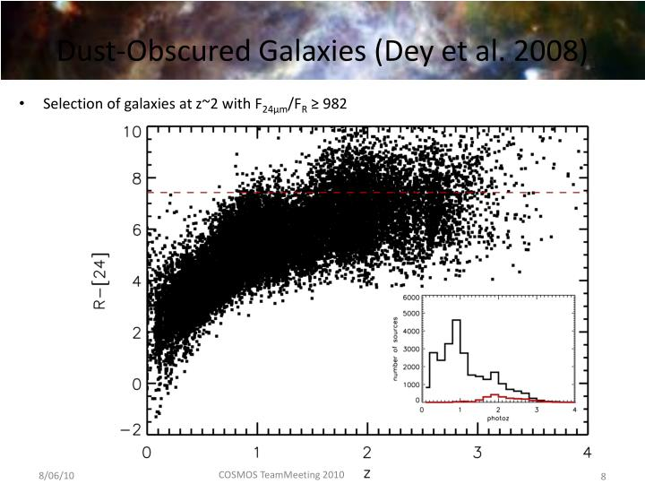 Selection of galaxies at z~2 with F