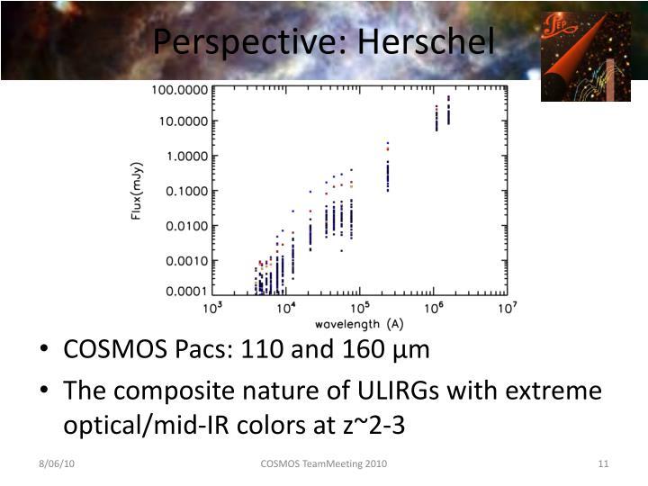 Perspective: Herschel