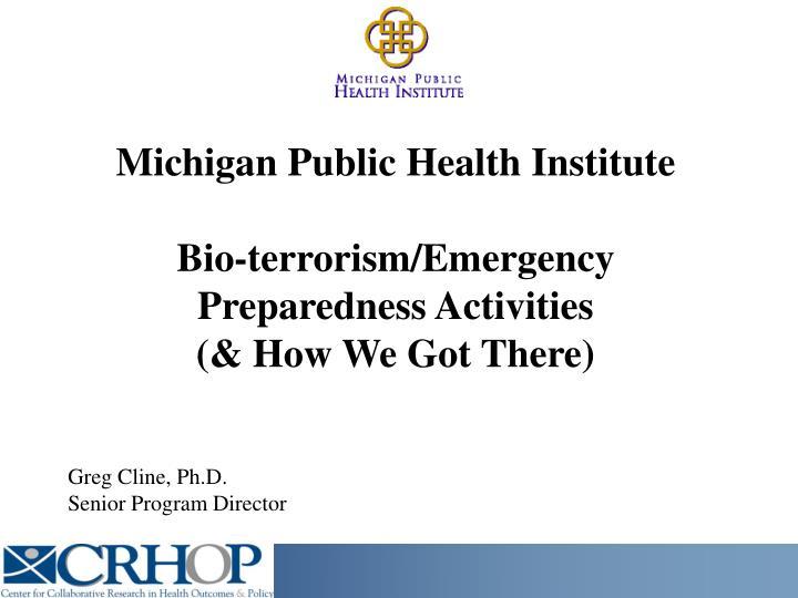Michigan Public Health Institute