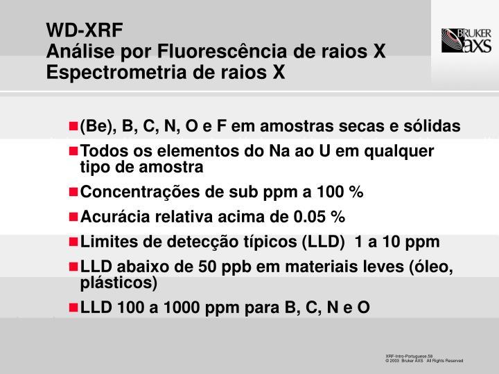 WD-XRF