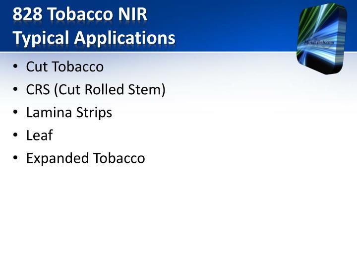 828 Tobacco NIR