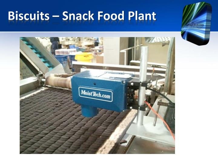 Biscuits – Snack Food Plant